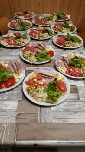 Schützenbeitzli - Salatmenu